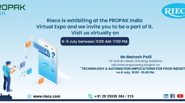 ProPak India 2021 | Rieco Industries